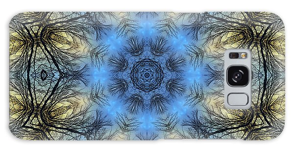 Winter Tree Mandala Galaxy Case
