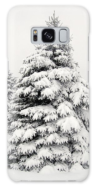 Winter Tree Galaxy Case
