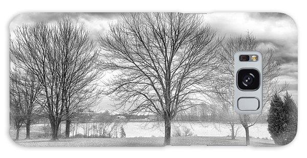 Winter Trees Galaxy Case by Howard Salmon