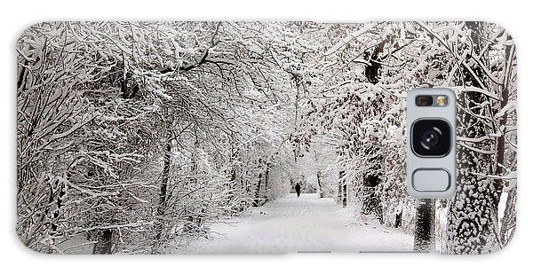 Winter Walk In Fairytale  Galaxy Case