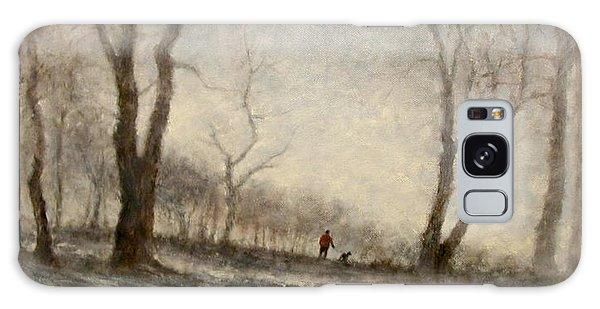 Galaxy Case - Winter Walk by Jim Gola