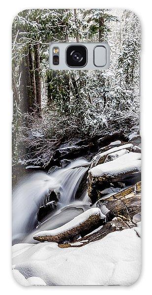 Winter Water Fall 2 Galaxy Case