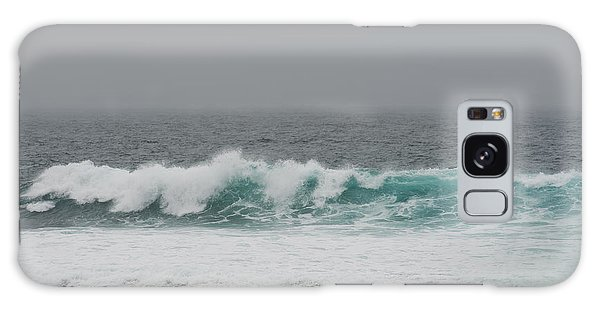 Winter Waves Galaxy Case by Artist and Photographer Laura Wrede