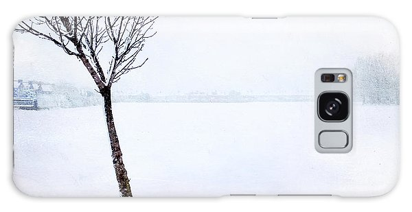 Winter Whiteout Galaxy Case