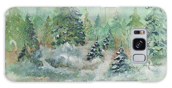 Winter Wonderland Galaxy Case by Lee Beuther