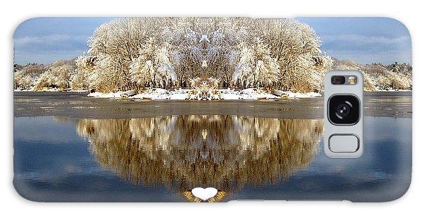 Winter Wonderland Love Galaxy Case