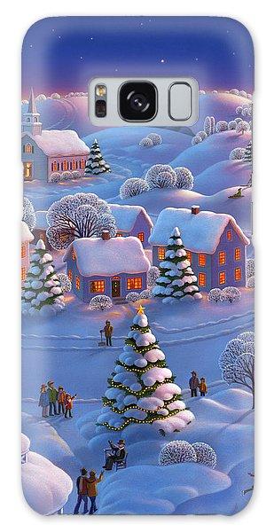 Town Galaxy Case - Winter Wonderland  by Robin Moline