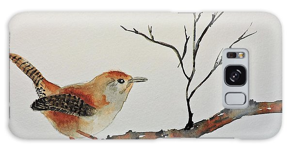Winter Wren Galaxy Case