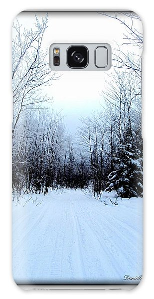 Winterlude In Abitibi Temiscamingue Quebec  Galaxy Case