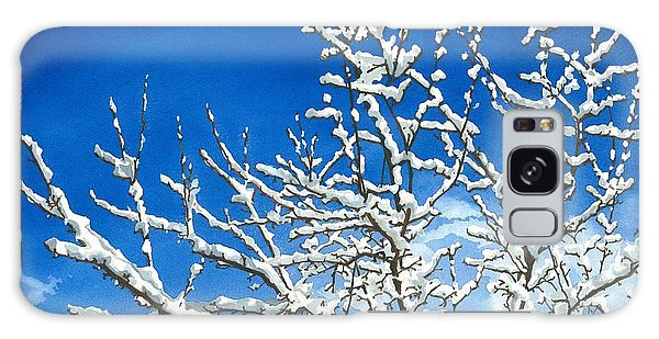 Winter's Artistry Galaxy Case by Barbara Jewell