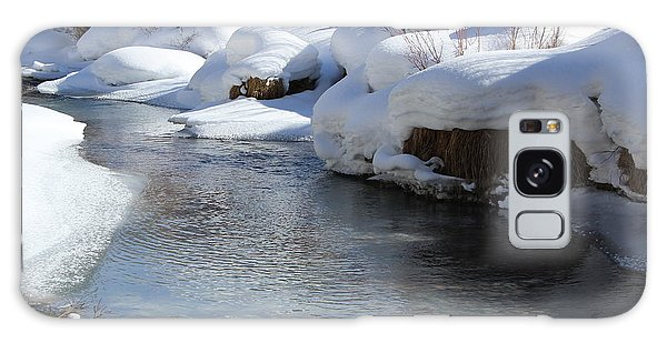 Winter's Blanket Galaxy Case by Fiona Kennard