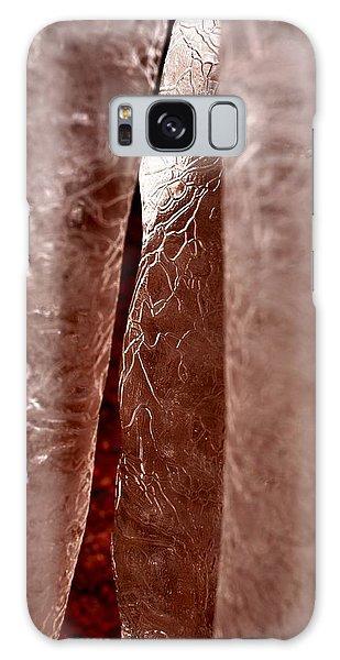 Winter's Daggers Galaxy Case by Carlee Ojeda
