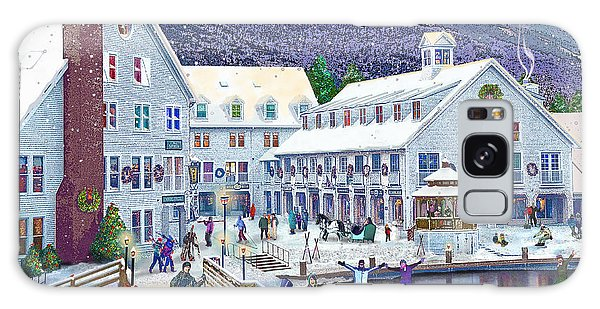 Wintertime At Waterville Valley New Hampshire Galaxy Case