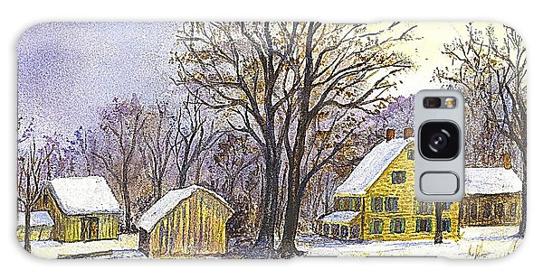 Wintertime In The Country Galaxy Case