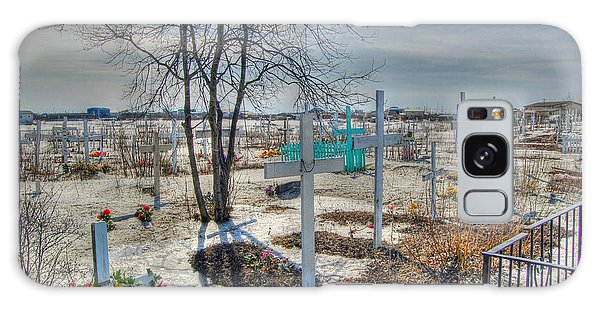 Wintery Grave Galaxy Case