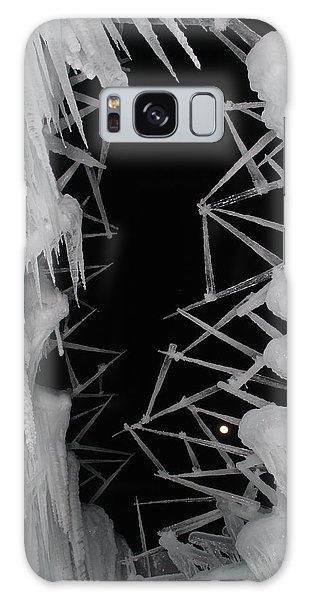 Wintery Ice Farming  Galaxy Case