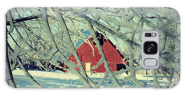 Our Frosty Barn Galaxy Case