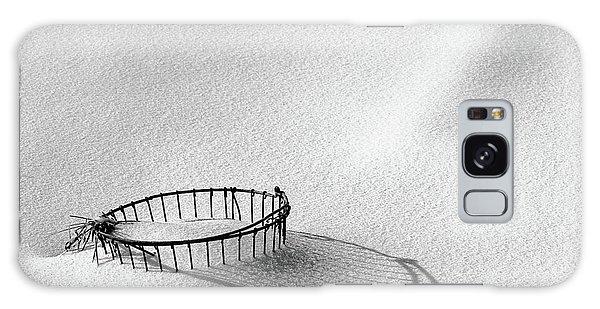 Wire Basket In Snow Galaxy Case
