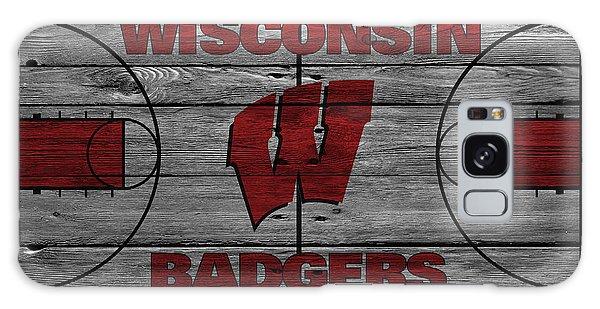 Wisconsin Badger Galaxy Case by Joe Hamilton