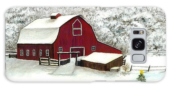 Wisconsin Christmas Galaxy Case
