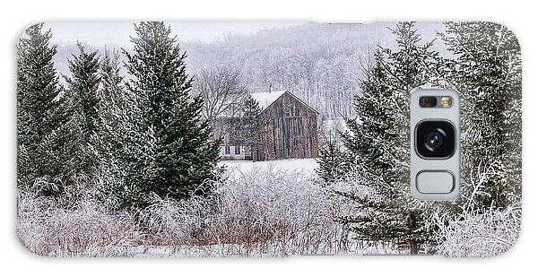 Wisconsin Frost Galaxy Case by Trey Foerster