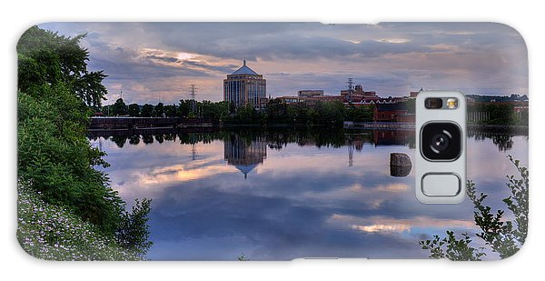 Wisconsin River Reflection Galaxy Case