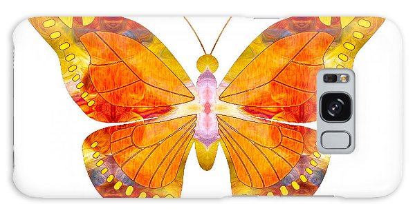 Wisdom And Flight Abstract Butterfly Art By Omaste Witkowski Galaxy Case
