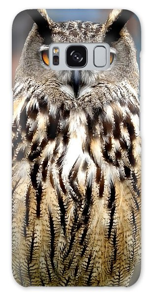 Wise Forest Mountain Owl Spain Galaxy Case by Colette V Hera  Guggenheim