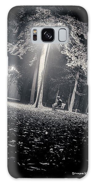 Galaxy Case featuring the photograph Wish You Were Alone by Stwayne Keubrick