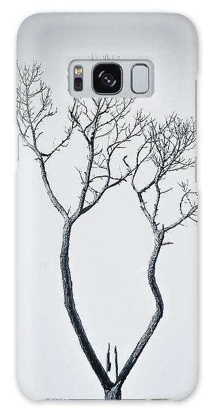 Galaxy Case featuring the photograph Wishbone Tree by Carolyn Marshall