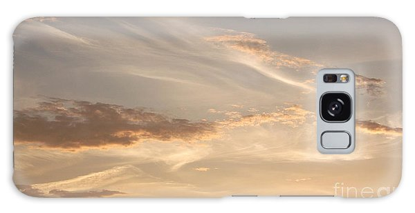 Wispy Sunset Galaxy Case