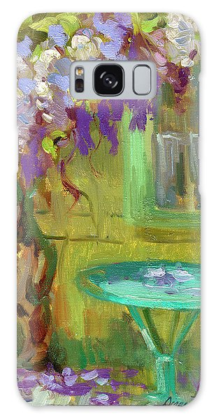 Wisteria At Hotel Baudy Galaxy Case by Diane McClary