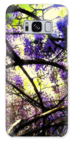 Wisteria Branches Galaxy Case
