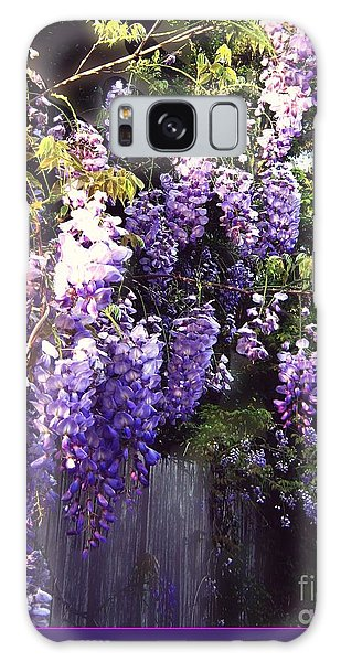 Wisteria Dreaming Galaxy Case by Leanne Seymour