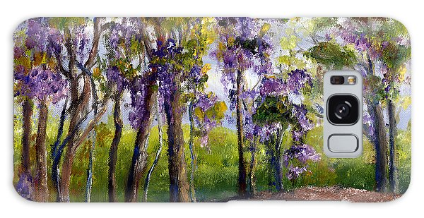 Wisteria In Louisiana Trees Galaxy Case