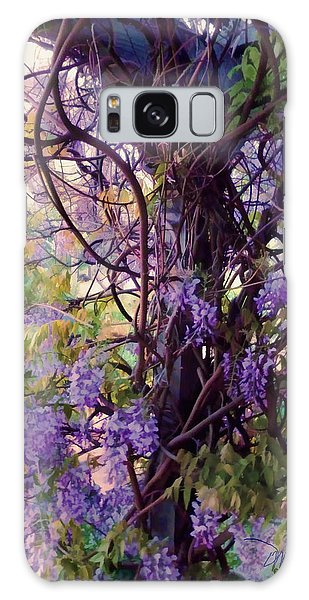 Wisteria Shade And Sun Galaxy Case