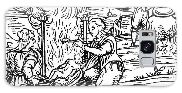 Folklore Galaxy Case - Witches Roasting And Boiling Infants by Italian School