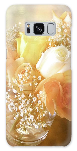 Vase Of Flowers Galaxy Case - With Love by Julie Palencia