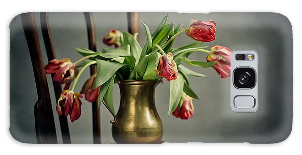 Tulip Galaxy S8 Case - Withered Tulips by Nailia Schwarz