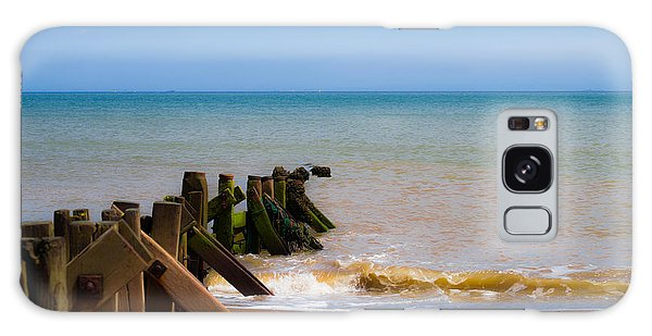 Withernsea Groynes Galaxy Case