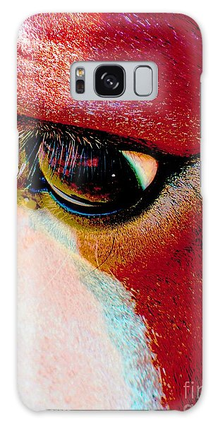 Within The Horse's Eyes Galaxy Case