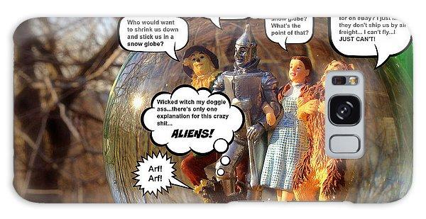 Wizard Of Oz Humor IIi Galaxy Case