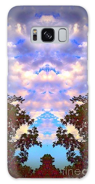 Wizards In The Clouds Galaxy Case by Karen Newell