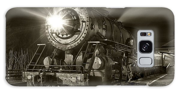 Wmsr Engine 734 At The Frostburg Depot Galaxy Case by Jeannette Hunt