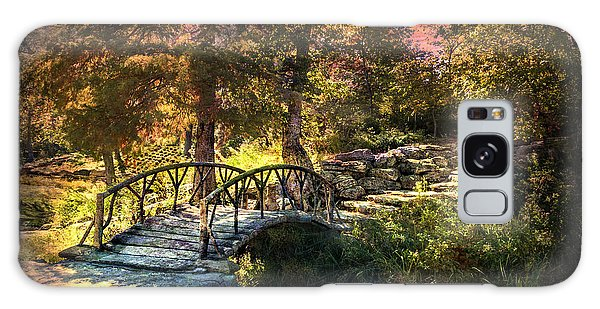 Woddard Park Bridge II Galaxy Case by Tamyra Ayles