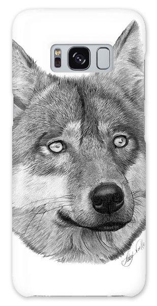 Wolf - 017 Galaxy Case by Abbey Noelle