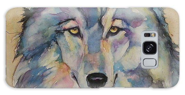 Wolf Galaxy Case by Christy  Freeman