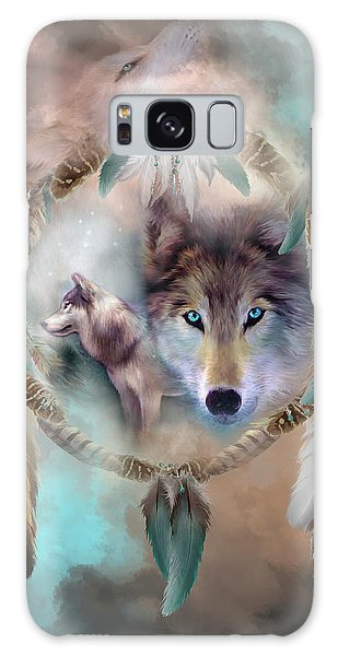 Wolf - Dreams Of Peace Galaxy Case