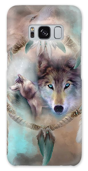 Wolf - Dreams Of Peace Galaxy Case