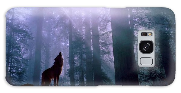 Wolf In The Woods Galaxy Case